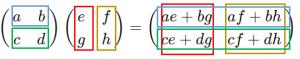 行列積の例3