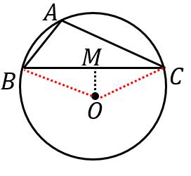 正弦定理の証明(鈍角の場合)