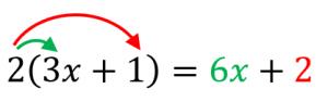 式の展開の例