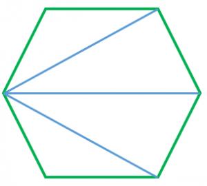 正多角形の三角形分割
