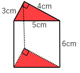 三角柱の底面積