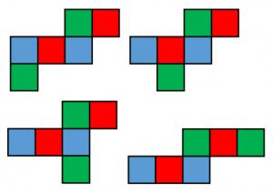 立方体の展開図2
