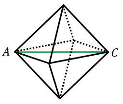 正八面体の外接球の半径