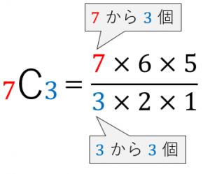コンビネーションの例2