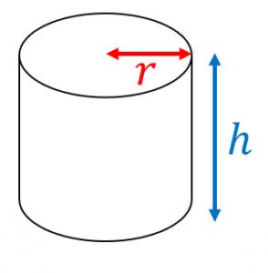 円柱の鉄の重さ